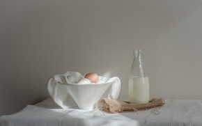 Picture food, milk, eggs
