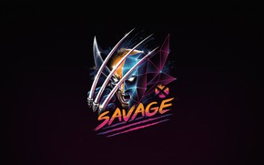 Picture Minimalism, Background, Wolverine, Logan, Art, Wolverine, Neon, Mutant, Savage, by Vincenttrinidad, Vincenttrinidad, by Vincent Trinidad, ...