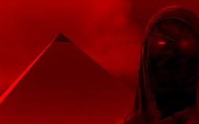 Picture pyramid, mummy, Assassins Creed Origins