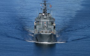 Picture ship, large, landing, the project 775, Alexander otrakovsky