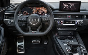 Picture Audi, salon, 2018, universal, RS4, Before