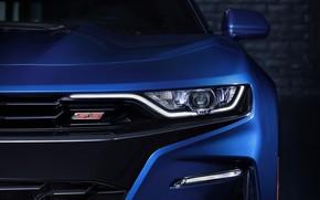 Picture Chevrolet, Camaro, Car, Blue