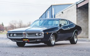 Picture Classic, Coupe, Muscle car, Vehicle, Dodge Charger 383