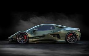 Picture car, concept, supercar, Guerriera H6