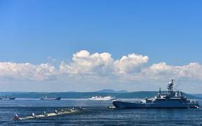 Picture Navy, ship, technique, landing, parade