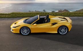 Picture machine, water, Ferrari, sports car, Spider, Ferrari F8