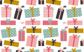 Picture background, gifts, box