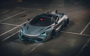 Picture McLaren, Auto, Machine, Supercar, Rendering, Concept Art, Khyzyl Saleem, by Khyzyl Saleem, 720S, McLaren 720S, …