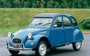 Picture blue, Citroën, Special, 2CV6, 1975–90