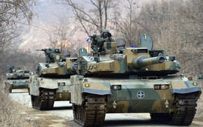 Picture South Korea, South Korea, MBT, K2 Black Panther, MBT