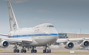 Picture The plane, Liner, Engine, Boeing, NASA, WFP, DLR, Boeing 747SP, SOFIA, Airliner, Boeing 747, Chassis, …