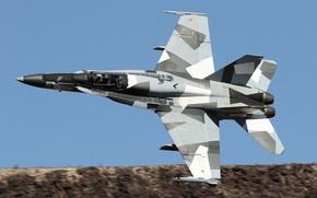 Picture Fighter, USAF, Pilot, F/A-18 Hornet, Cockpit, Aggressor Squadron