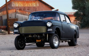 Picture Race car, Gasser, Modified, Chevy 210