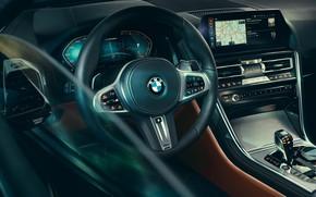 Picture BMW, salon, Coupe, 2018, 8-Series, M850i, XDrive