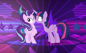 Picture background, cartoon, pony, My Little Pony