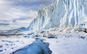 Picture cold, nature, Antarctica