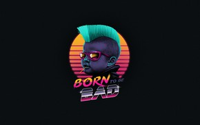 Picture Child, Background, Art, 80s, Punk, Neon, 80's, Synth, Retrowave, Synthwave, New Retro Wave, Futuresynth, Sintav, ...