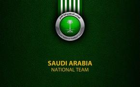 Picture wallpaper, sport, logo, football, Saudi Arabia, National team