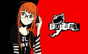 Picture girl, red, Person 5, Persona 5