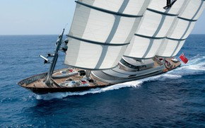 Picture Sea, Yacht, Sailing yacht, The Maltese Falcon