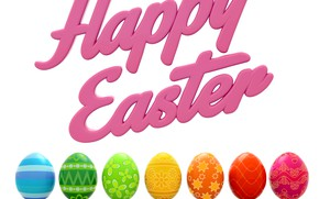 Picture eggs, Easter, colorful, Easter