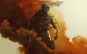Picture lion, gign, rainbow six siege, cbrn, operation chimera