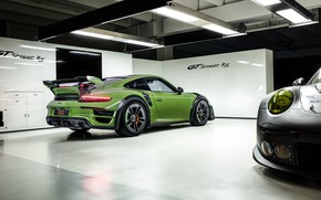 Picture 911, Porsche, rear view, Turbo S, TechArt, 2019, GT Street RS
