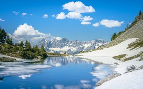 Picture landscape, mountains, nature, the slopes, beauty