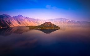 Picture USA, Oregon, nature, lake, Crater Lake
