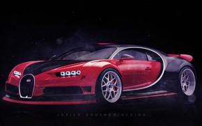 Picture Auto, Machine, Bugatti, Supercar, Bugatti Chiron, Transport & Vehicles, Javier Oquendo, by Javier Oquendo