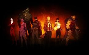 Picture batman, Batman, the demon, team, Orchid, team, DC comics, Zatanna, dead, antihero, deadman, Zatanna, DC, …