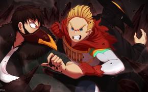 Picture hero, villains, Boku No Hero Academy, My Hero Academy