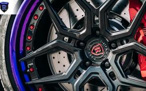 Picture Mercedes-Benz, wheel, AMG, C63, Rohana Wheels, SEMA 2019, C63Z, RFG5, Purple Lip