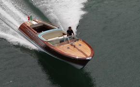 Picture Wallpaper, Sea, Boat, The Lamborghini Riva Aquarama
