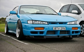 Picture Blue, JDM, Nissan Silvia S14