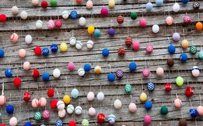 Picture eggs, Germany, Easter, Berlin, Alexanderplatz, Easter decorations