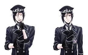 Picture Kuroshitsuji, Sebastian, Dark Butler