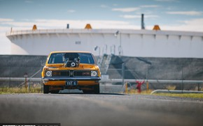 Picture Race, Hot Rod, Coupe, Yellow, Custom, Holden, Engine, Vehicle