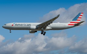 Picture Airbus, American Airlines, A330-300