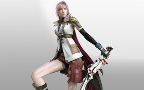 Picture girl, Final Fantasy XIII, Lightning