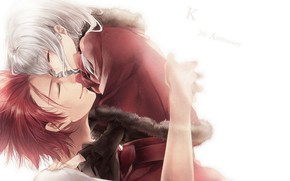 Picture happiness, anime, two, Project Key, K Project
