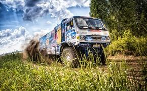 Picture Auto, Sport, Machine, Truck, Race, Master, Russia, Race, Russia, 302, Kamaz, Rally, KAMAZ-master, Rally, Truck, …