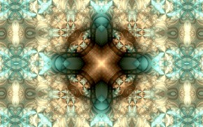 Picture pattern, star, pallor