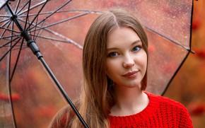 Picture Girl, umbrella, Christina Vostruhina, Anna Shuvalova