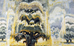 Picture Charles Ephraim Burchfield, In Memory of the American Chestnu, Summer Solstice, 1961-66
