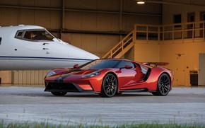 Picture Ford, supercar, Ford GT, business jet, 2017, H063, Beryllium Orange