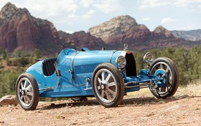 Picture Bugatti, Lights, Classic, Chrome, Classic car, 1924, Grille, Type 35, Bugatti Type 35 Prototype