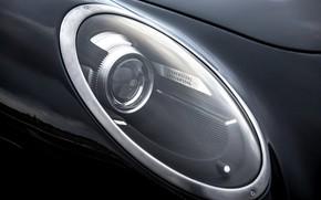 Picture coupe, headlight, optics, body, 2018, Jaguar XKR, V8, Speedback, two-door, David Brown Automotive, Silverstone Edition