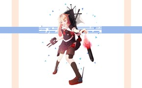 Picture girl, weapons, Kantai Collection