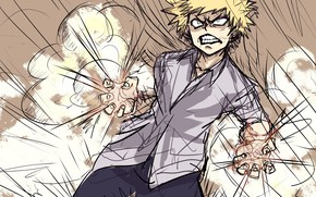 Picture My Hero Academia, Boku No Hero Academy, My Hero Academy, Bakuga Katsuki